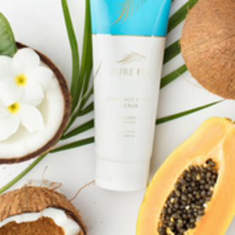 Pure Fiji | Coconut Crush Scrub - Coconut Lime