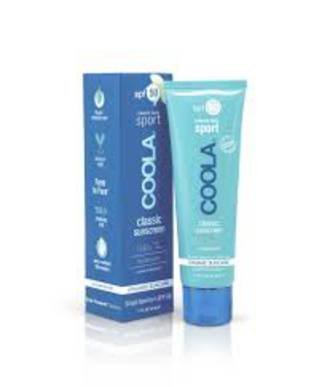 Coola Cassic Face Sport Sunscreen White Tea SPF50