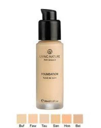 Living Nature | Mineral Foundation - Pure Honey