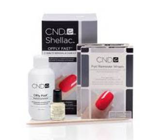 CND Shellac Removal Kit Offly Fast