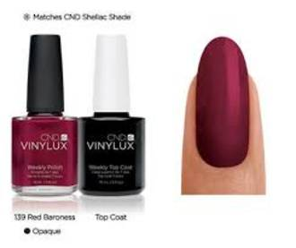 CND VinyLux Red Baroness