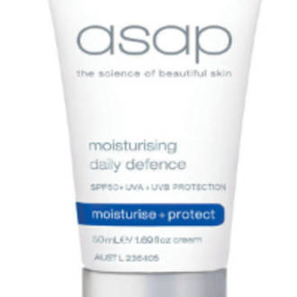 asap | Moisturising Daily Defence SPF50+ 100ml