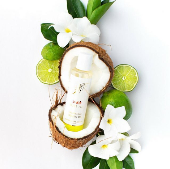 Pure Fiji Exotic Bath & Body Oil Coconut Lime