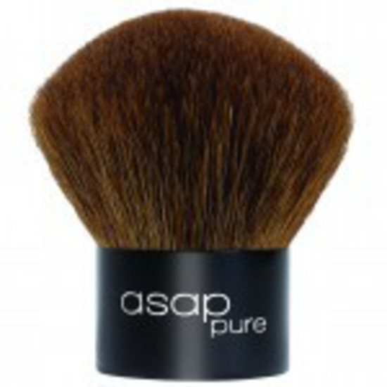 asap | Pure Loose Mineral Make-Up | Kabuki Brush
