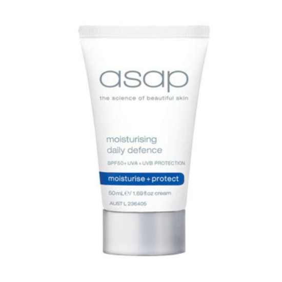 asap | Moisturising Daily Defence SPF50+ 50ml